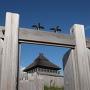 北内郭への門
