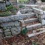 集義館裏の石段