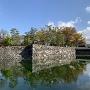 水堀・石垣・黒門