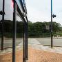 明石公園入口(古写真と同じ位置から)[提供:明石観光協会]