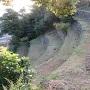 七段石垣、上から