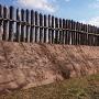 吉野ヶ里 木柵と土塁と環濠①