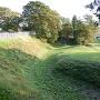 本丸裏側の堀