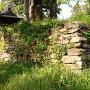 猫尾城 櫓台石垣