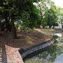 江迎城 曲輪と水掘