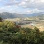 二の丸跡から望む手取川