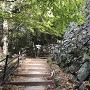 壺阪口門脇の石垣