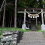 諏訪神社 (花園城登城口)