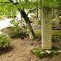 敏満寺金堂址 石碑