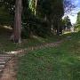 東城砦の柵
