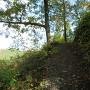 新しく整備された登城道