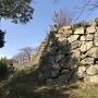 鉄門跡の外側