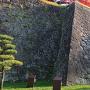 二ノ丸石垣(西側から)