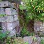 清水門内側の排水溝