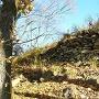 主郭の石積み2