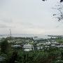 佐敷城址からの眺望