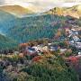 吉野山 秋の風景
