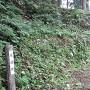 石垣跡(?)