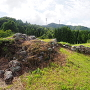 天守台の石垣跡