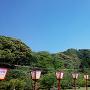 梶峯城 遠景
