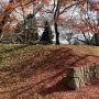 土塁と石垣