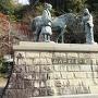 山内一豊と千代の銅像