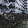 本丸中門跡石垣