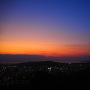 本丸から見る夕景