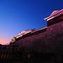 ニノ門南櫓下から見る夕景