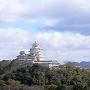 景福寺公園からみた姫路城[提供:姫路市]
