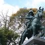 山内一豊騎馬像