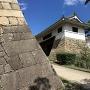 伏見櫓の石垣と筋鉄御門