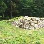 修復完了した居館跡の石垣