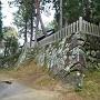 八幡神社の石垣