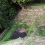 堀切の畝堀