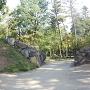 西曲輪石垣