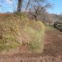 本丸と二ノ丸の間の堀跡