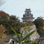 青筵神社付近から見た天守
