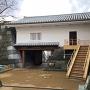 山里口御門櫓門(城内側から撮影)