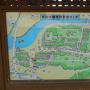 杵築城 散策マップ