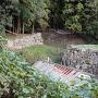 中の門跡の石垣