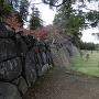 米蔵跡(二の丸下ノ段)で見られる石垣