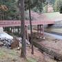 御主殿への曳橋