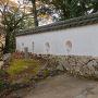 三の平櫓東土塀(現存部分)