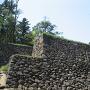 水ノ手門跡の石垣