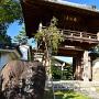 前田城石碑から速念寺
