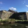 二の丸石垣と大書院
