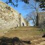 近戸門跡の石垣