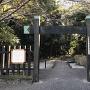 田原市博物館入口 冠木門