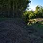奥ノ山と倉跡の南の虎口